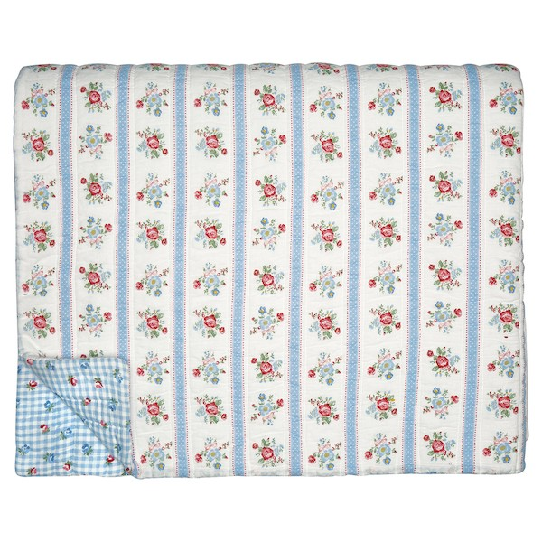 Greengate Evie White Quilt