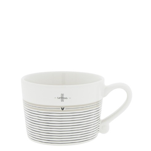Bastion Collections Tasse Small Stripes Coffee