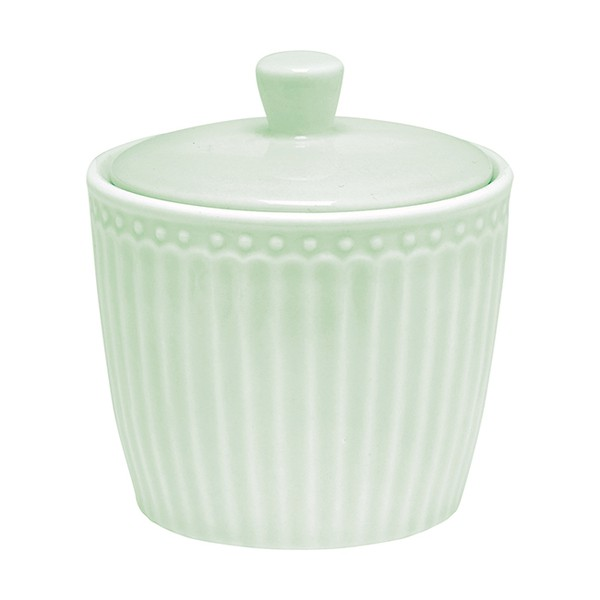 Greengate Alice pale green Zuckerdose