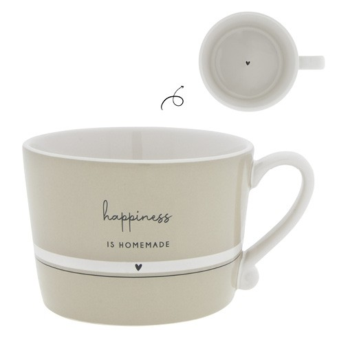 Bastion Collections Tasse Happiness is Homemade
