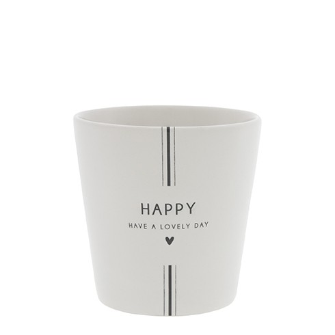 Bastion Collections Becher Have a lovely day in black