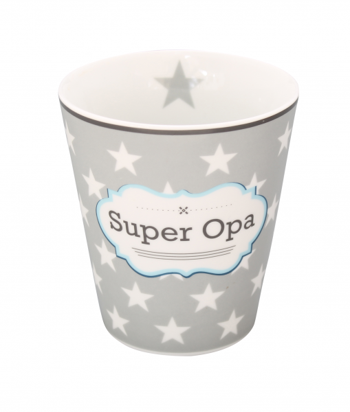 "Krasilnikoff Happy Mug ""Super Opa"""