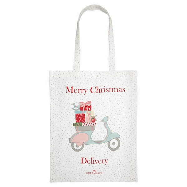 Greengate Scooter White Stofftasche