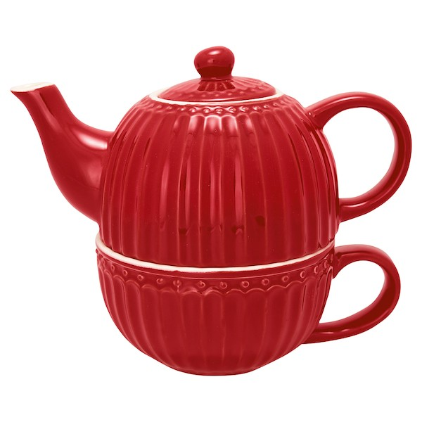 Greengate Alice red Tea for one