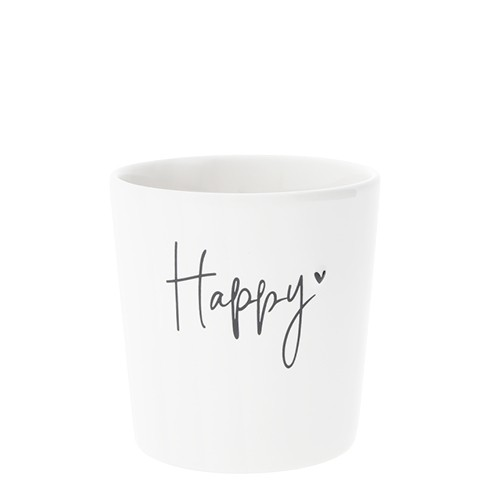 """Bastion Collections Becher """"Happy"""""""