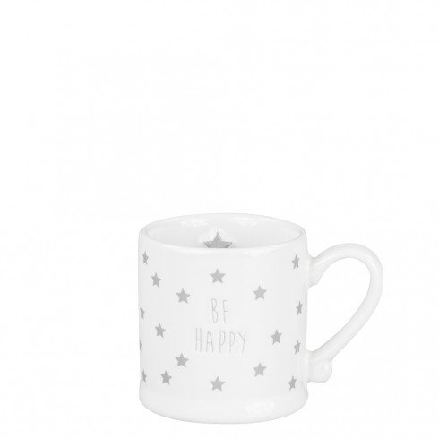 "Bastion Collections Espressotasse ""Be happy"""