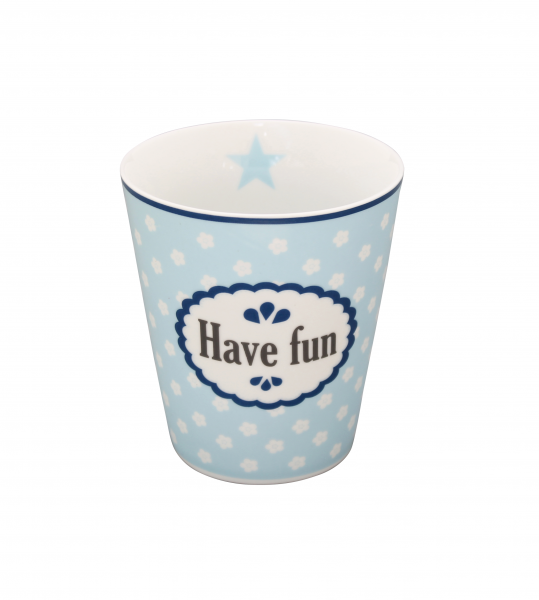 "Krasilnikoff Happy Mug ""Have Fun"""