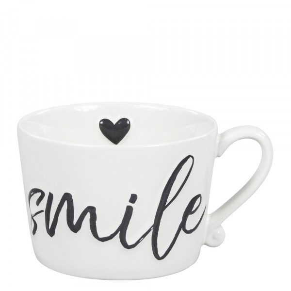 Bastion Collections Tasse Smile/Coffe Black