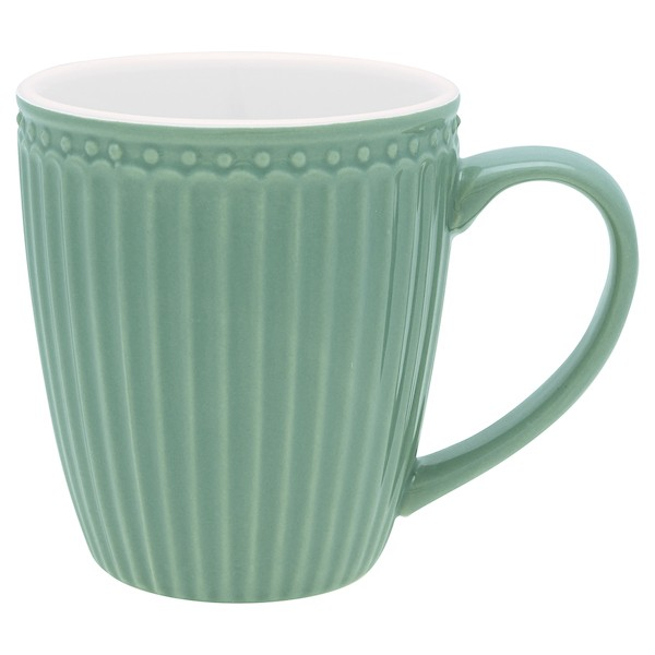 Greengate Alice dusty green Tasse