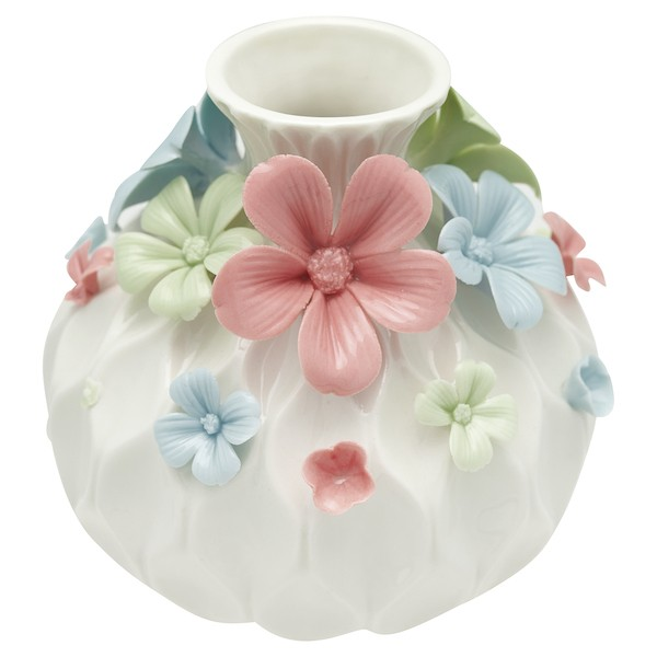 Greengate Daisy multicolor large Vase