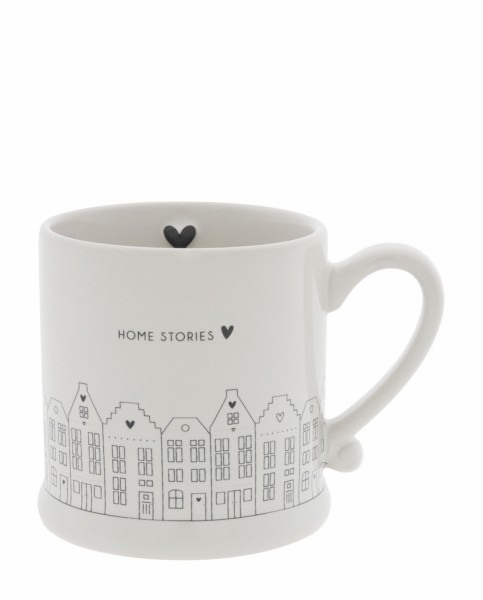 Bastion Collections Tasse Canal houses in black Small
