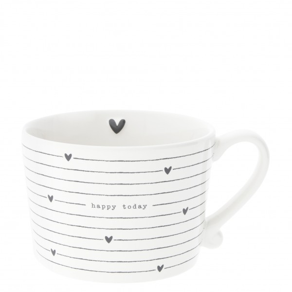 Bastion Collections Tasse Hearts & Happy Today