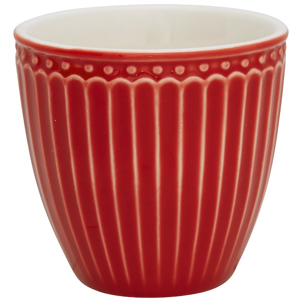 Greengate Alice Red Mini Latte Cup
