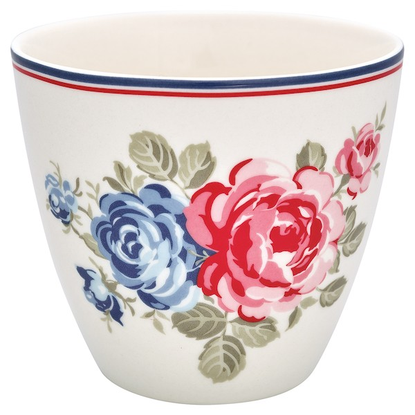Greengate Hailey white Latte Cup