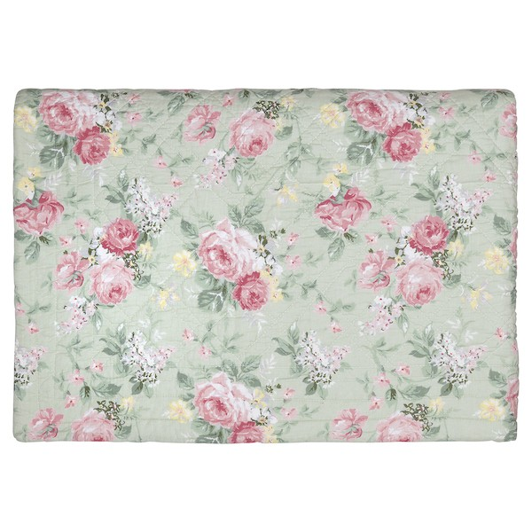 Greengate Josephine pale mint Bettüberwurf 140 x 220 cm