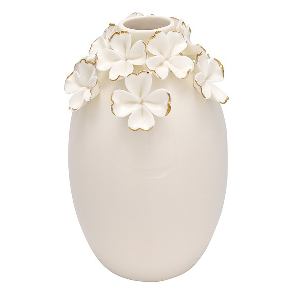 Greengate Flower white Vase large