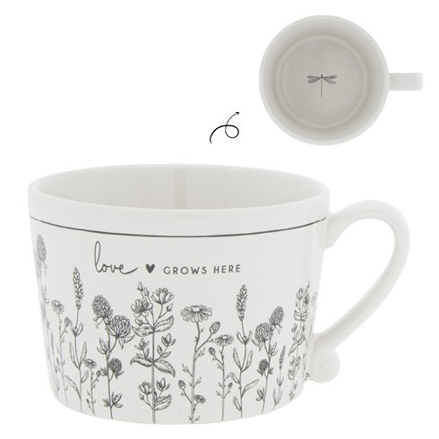 Bastion Collections Tasse Love grows here